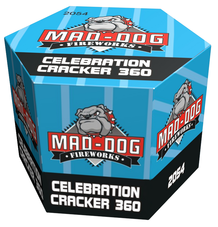 Cafferata Celebration Cracker 360 Mad Dog