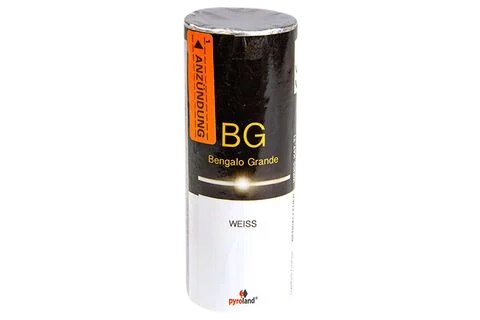 Pyroland Bengalo Grande Weiß 60s