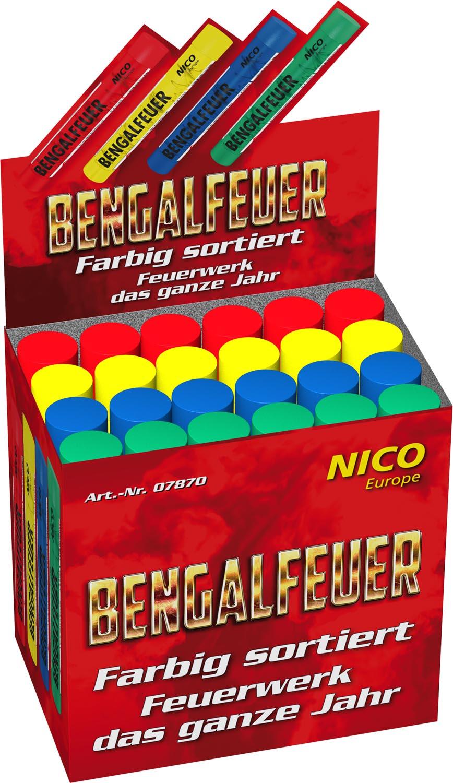 Nico Bengalfeuer gelb