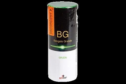Pyroland Bengalo Grande Grün 60s