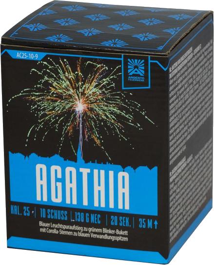 Argento Agathia 10-Schuss