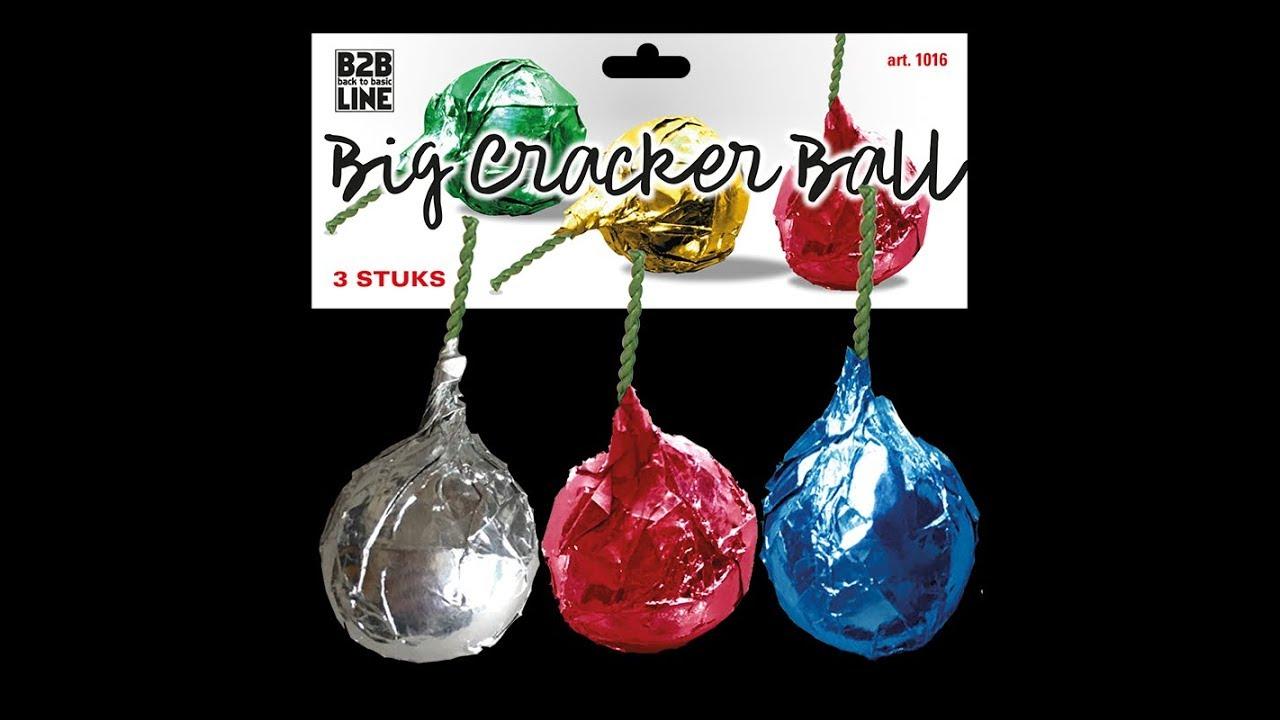 GBV Big Crackling Bälle 3er Pack