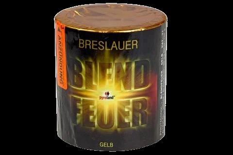 Pyroland Breslauer Blendfeuer Gelb 30s