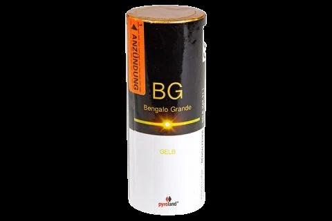 Pyroland Bengalo Grande Gelb 60s