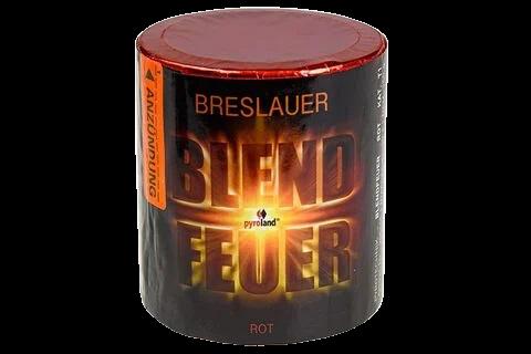 Pyroland Breslauer Blendfeuer Rot 30s